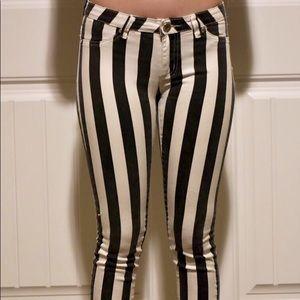 Denim - Striped Jeans
